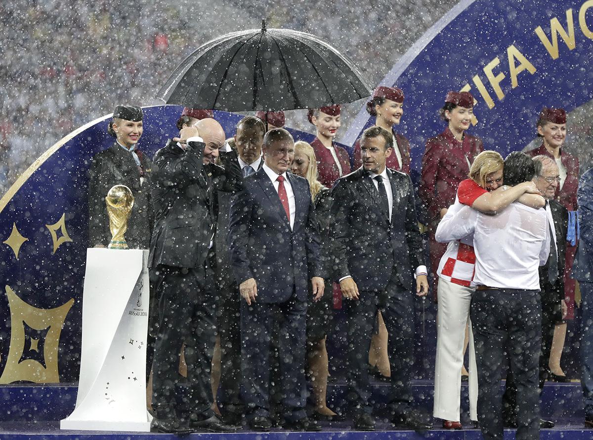 Zvláštní ceny poroty, autor: Petr Josek, Russia Soccer WCup France Croatia