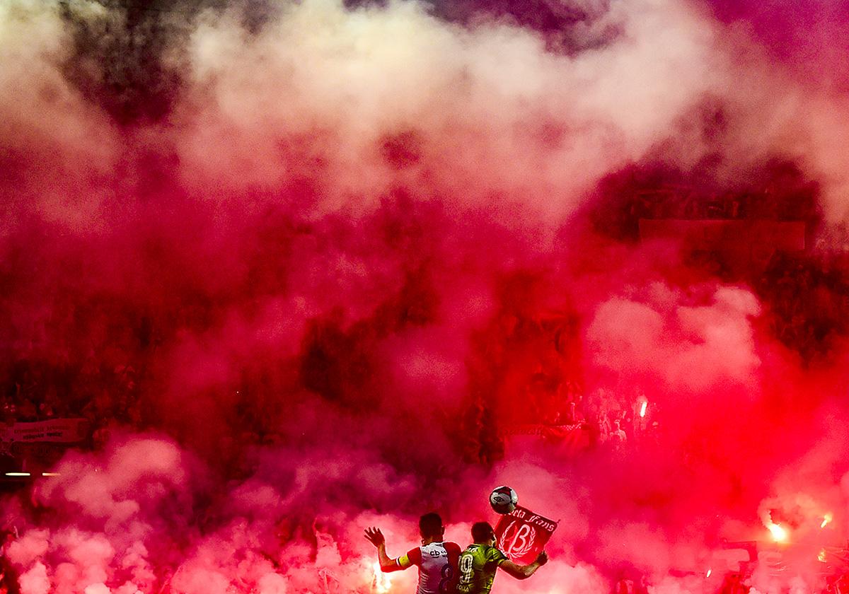 Vítěz kategorie fotbal, autor Roman Vondrouš: Slavia vs. Plzeň