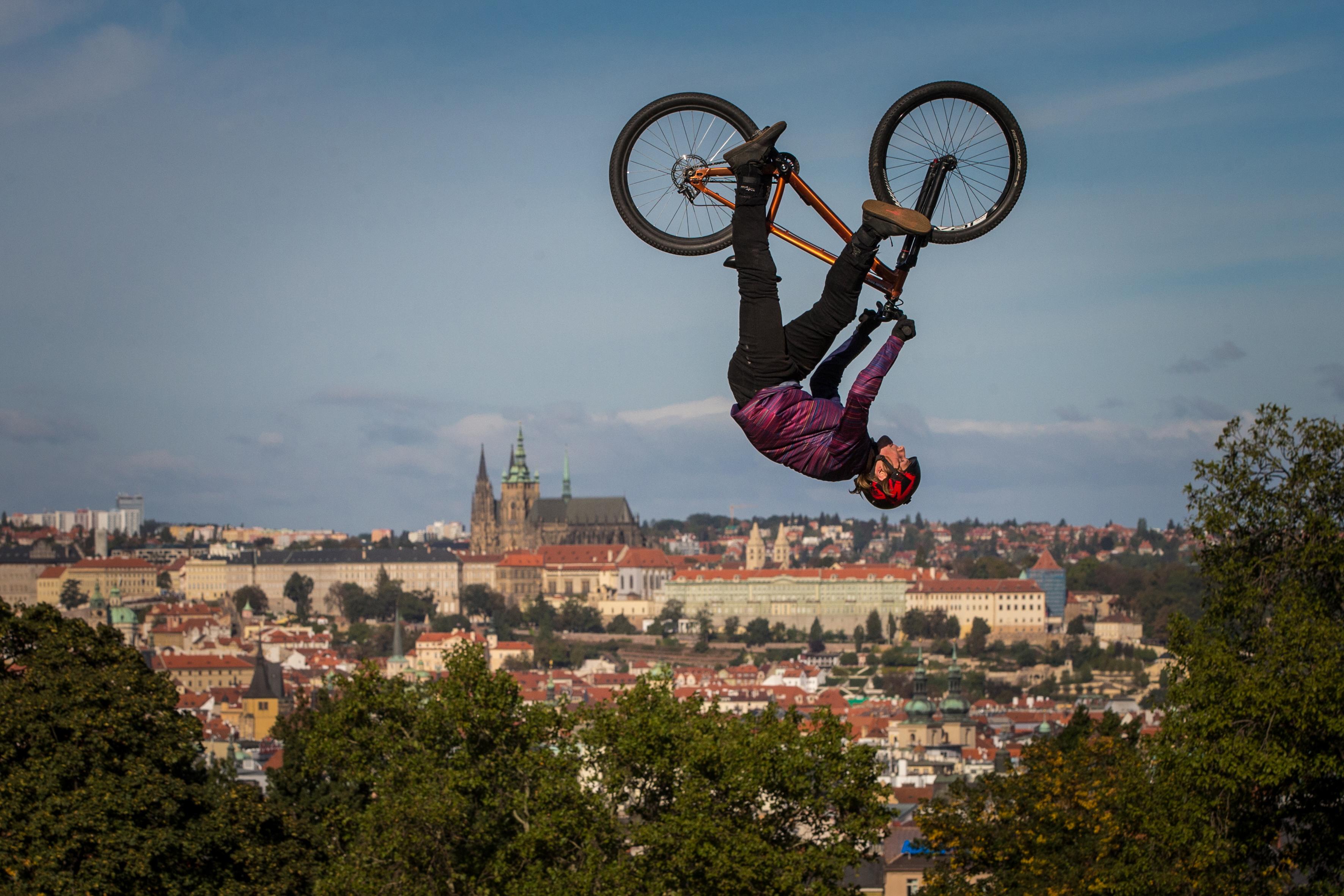 Vítěz divácké soutěže Sport v Praze, Michal Červený: Poletování nad Prahou